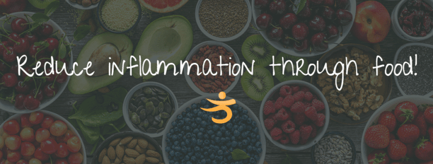 Reduce inflammation through food